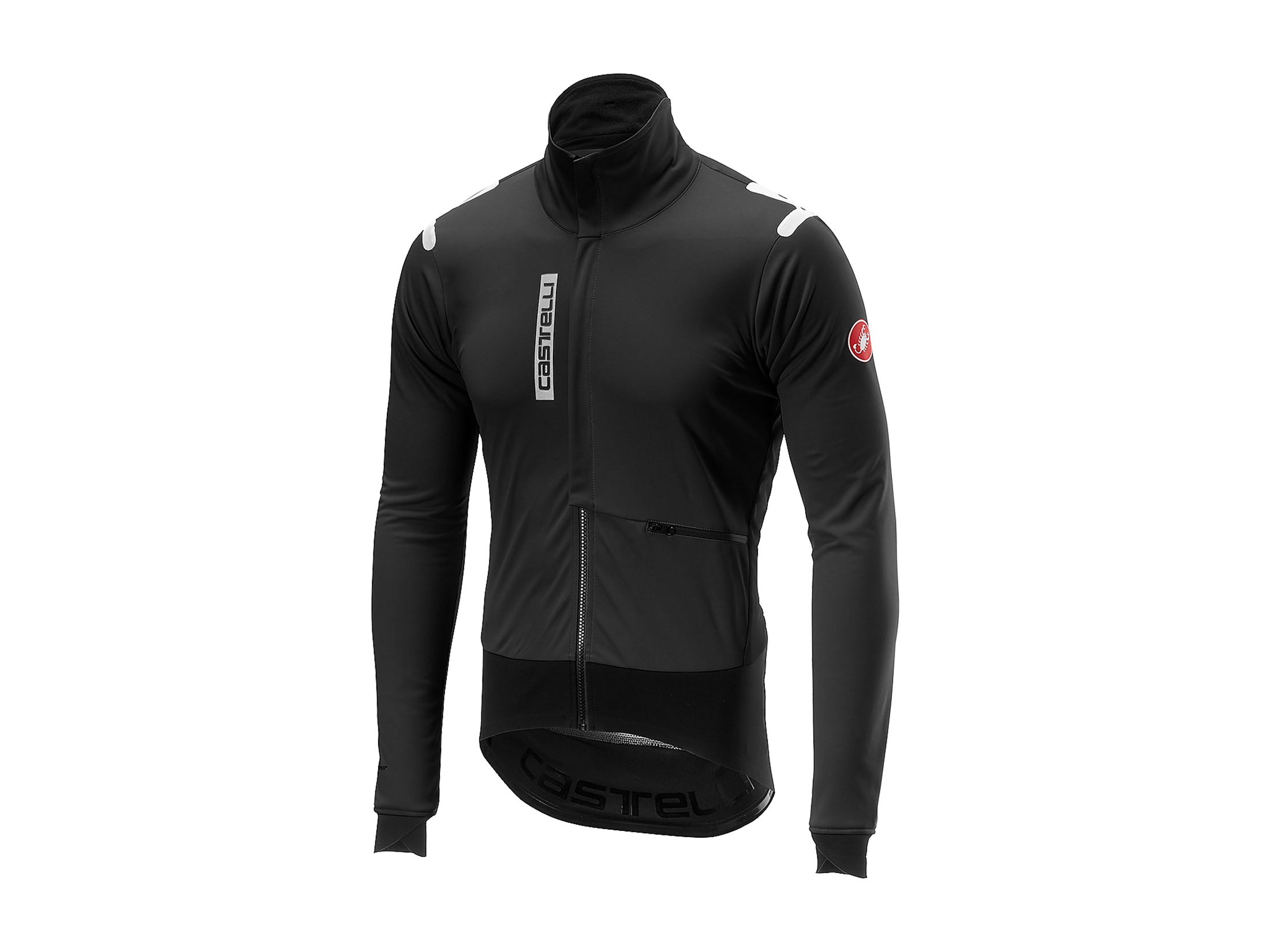 Castelli Alpha RoS Jacket (Light Black / Black)