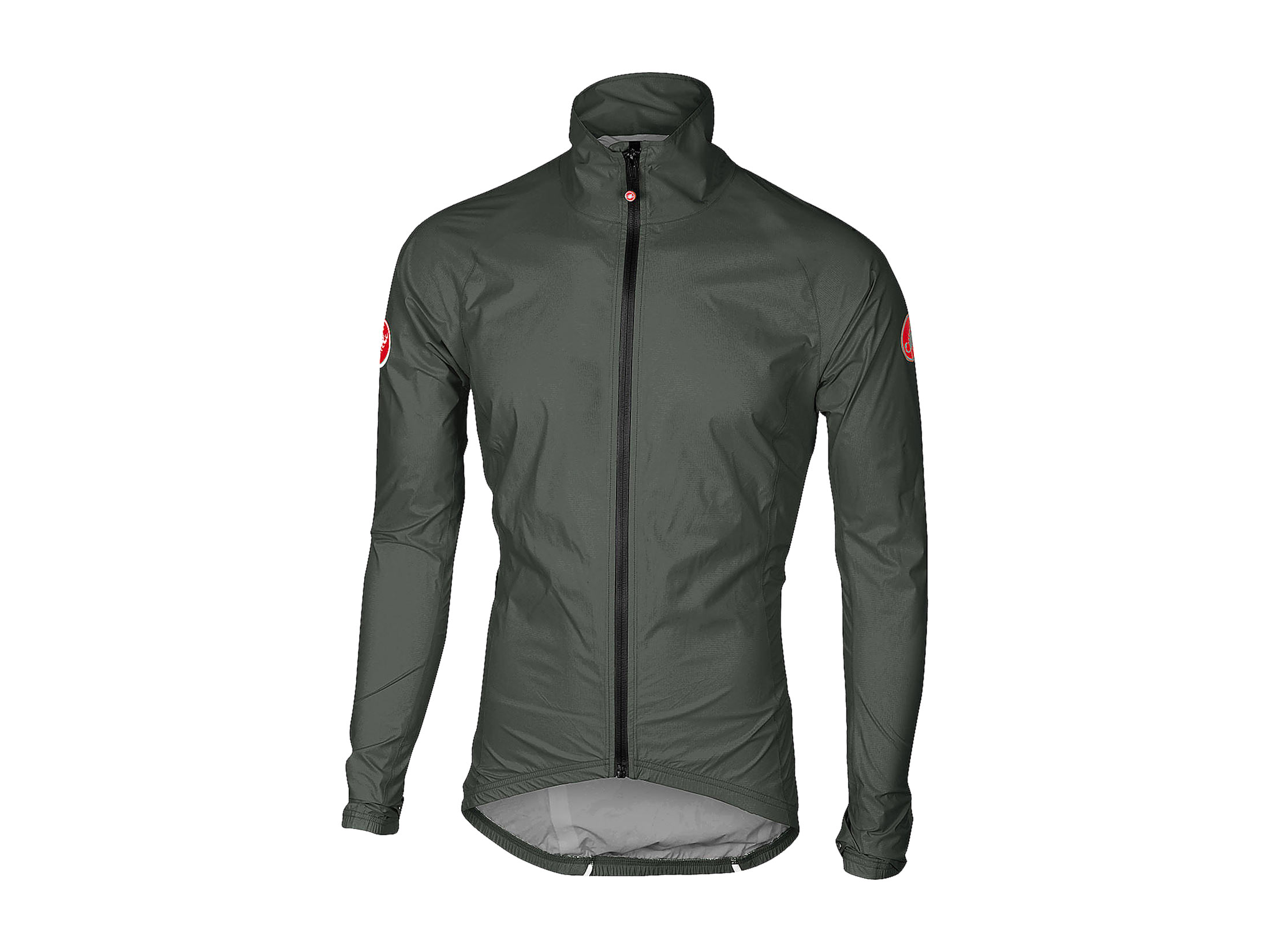 sale retailer best wholesaler order online Castelli Emergency Rain Jacket - Forest Gray