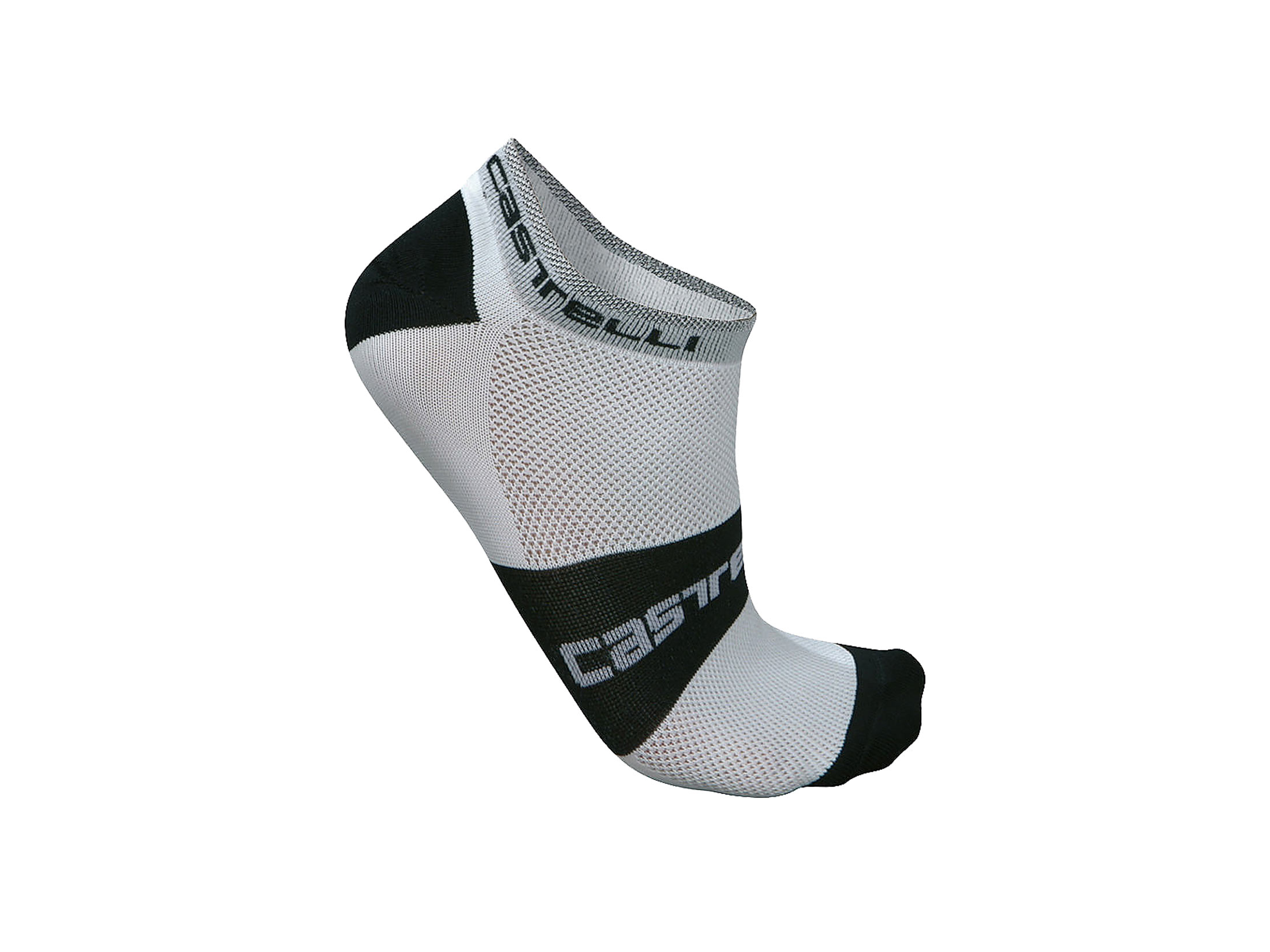 Castelli Lowboy Socks - White/Black