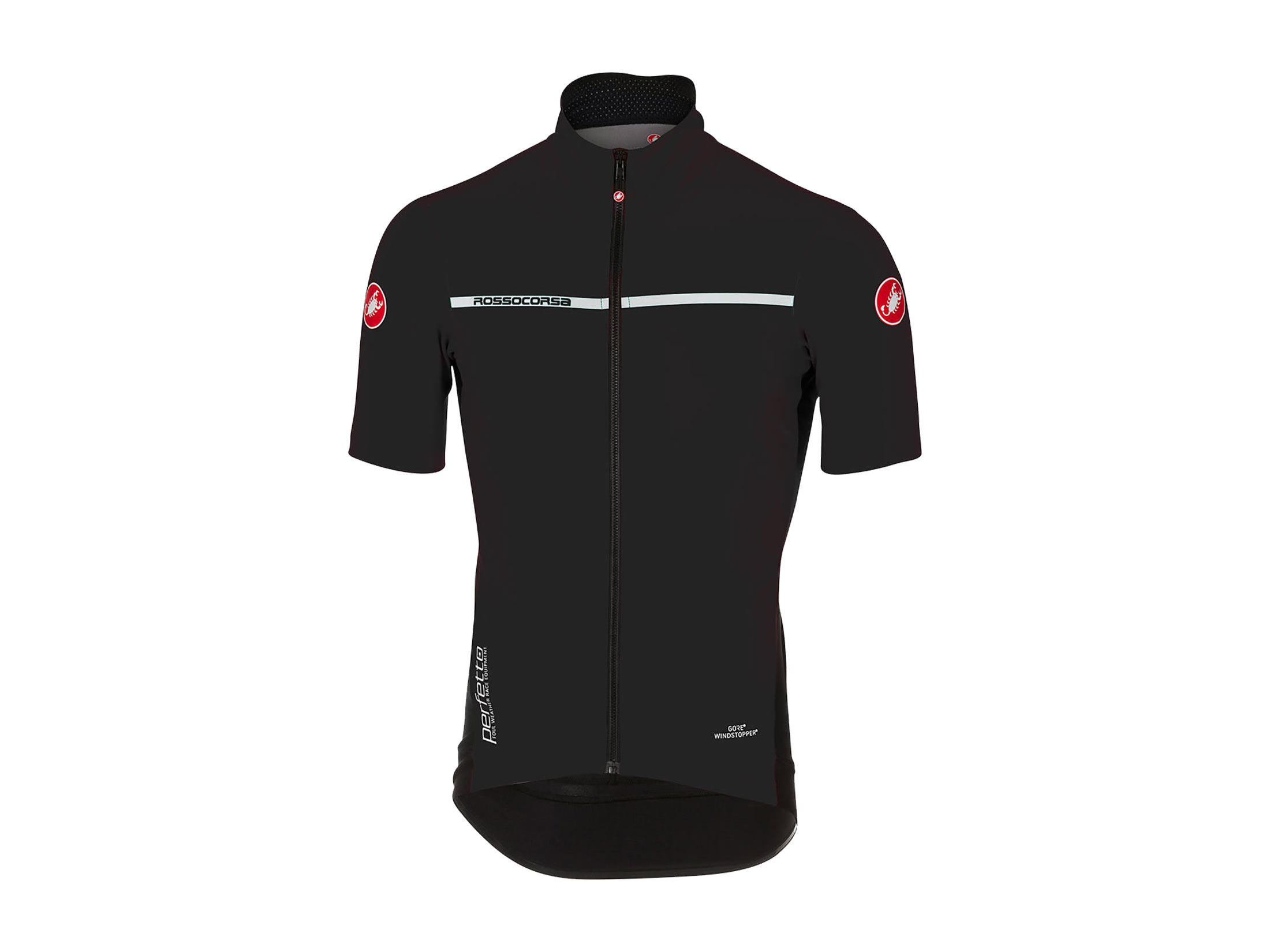 Castelli Perfetto Light 2 Jersey - Light Black