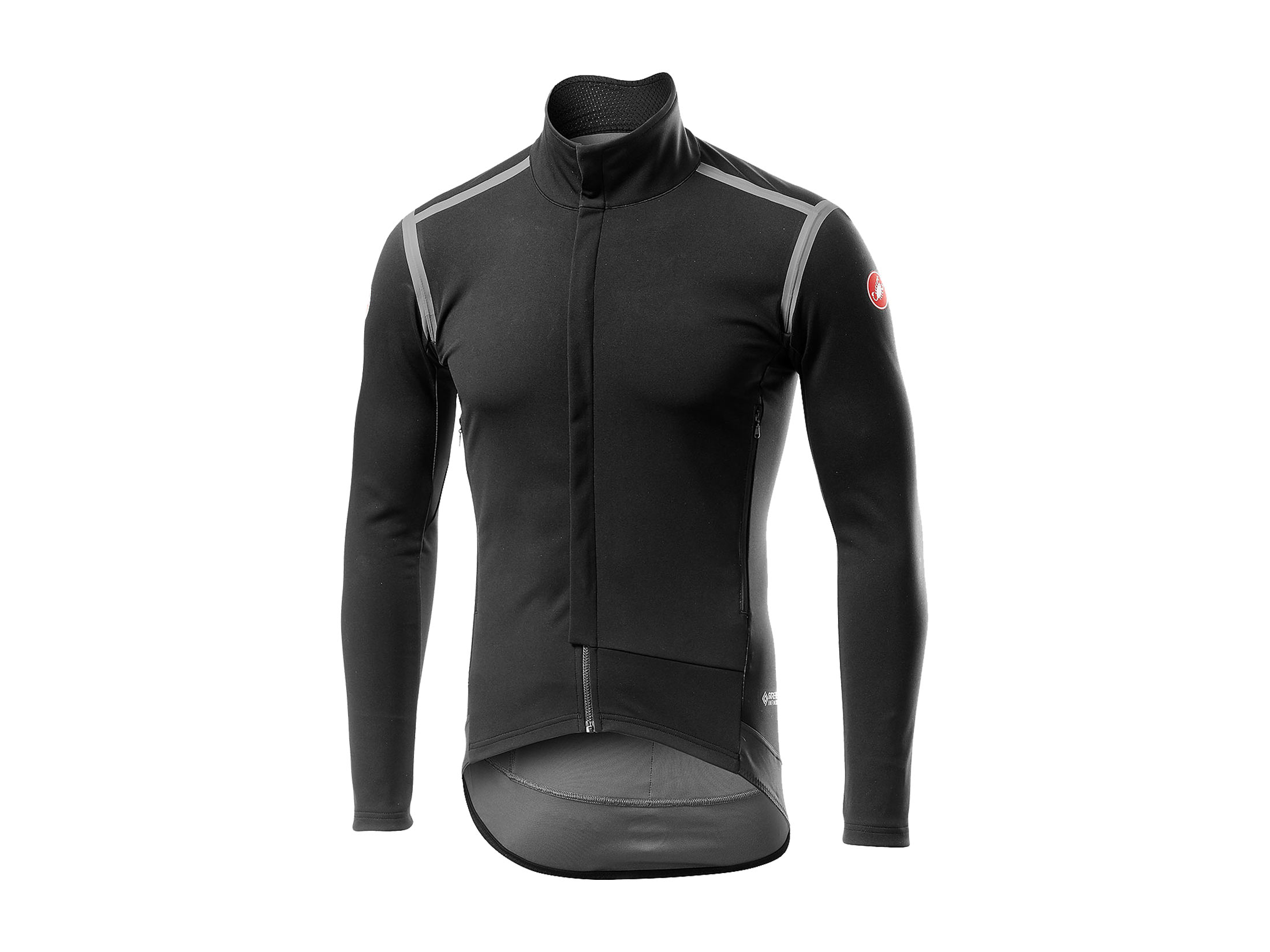 Castelli Perfetto RoS Long Sleeve Jacket - Light Black