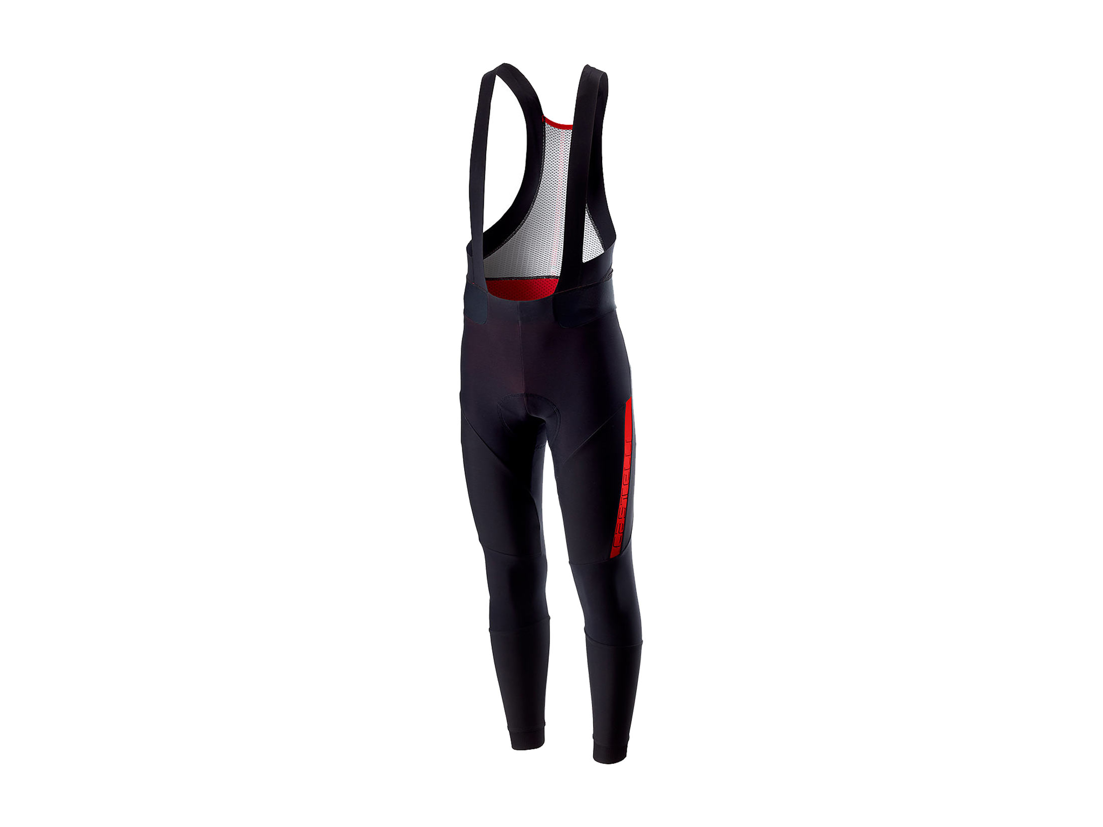 Castelli Sorpasso 2 Bibtight - Μαύρο/Κόκκινο