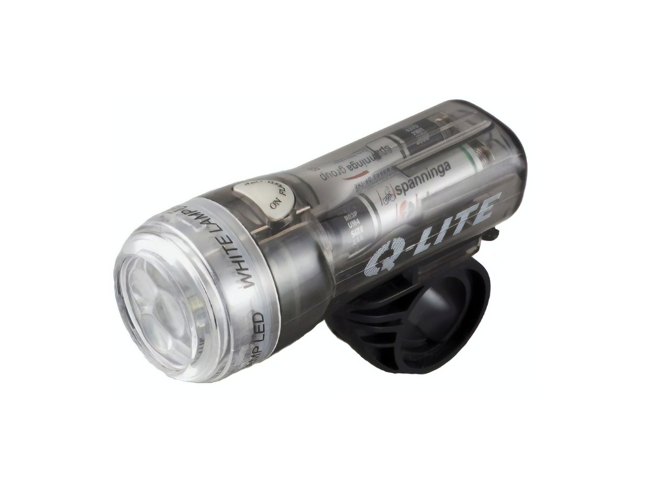Q-Lite Smooth Tube  3 LED Powerful Front Bicycle Light