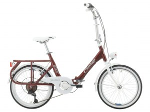 cinzia-sixties-aluminium-20-folding-city-bike-burgundy