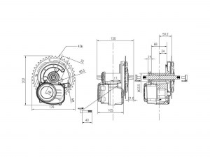 electric-universal-middle-drive-kit-dimensions