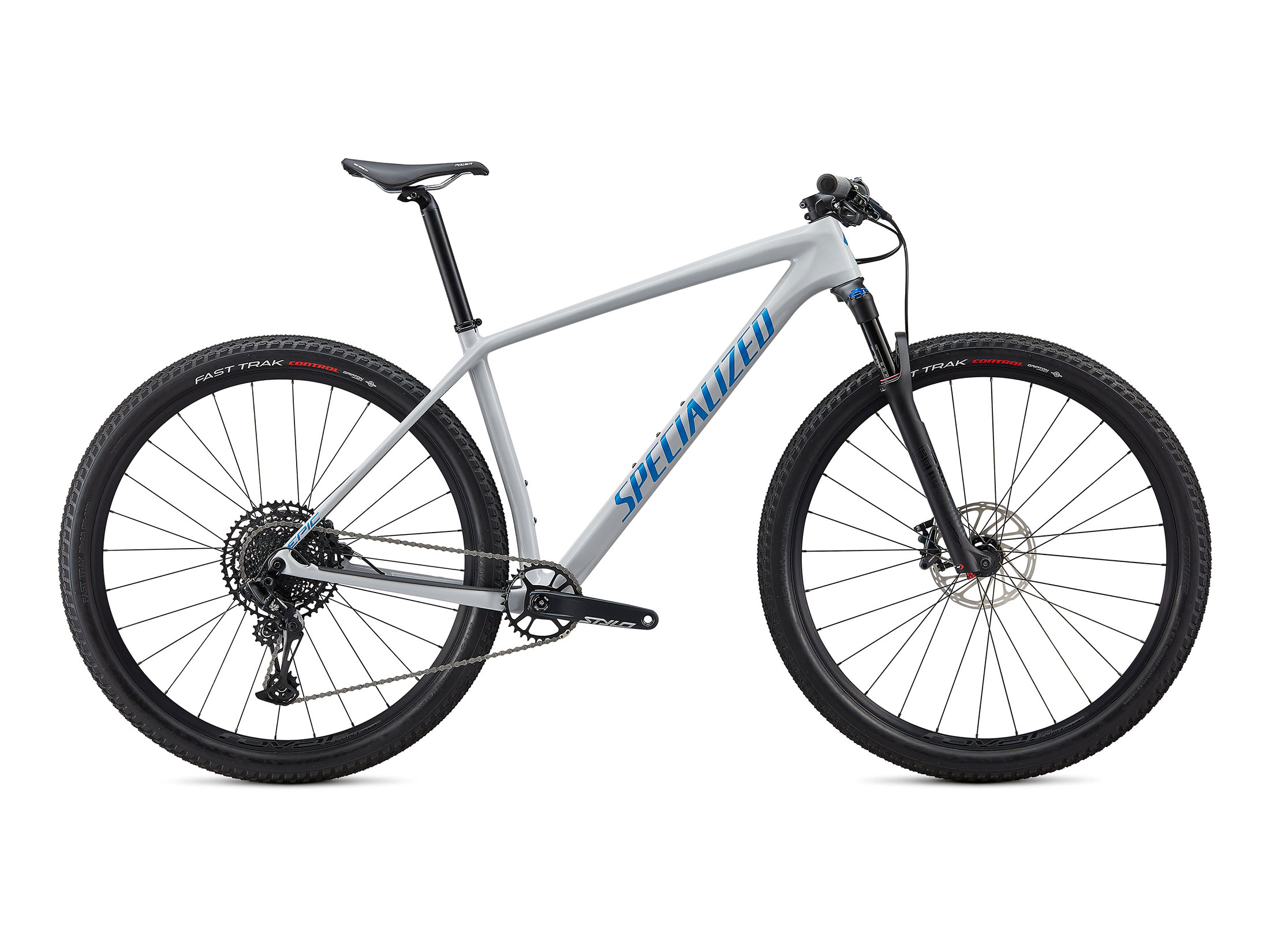 Ποδήλατο Specialized Epic Hardtail Comp - Gloss Dove Grey Blue Ghost Pearl / Pro Blue (L)