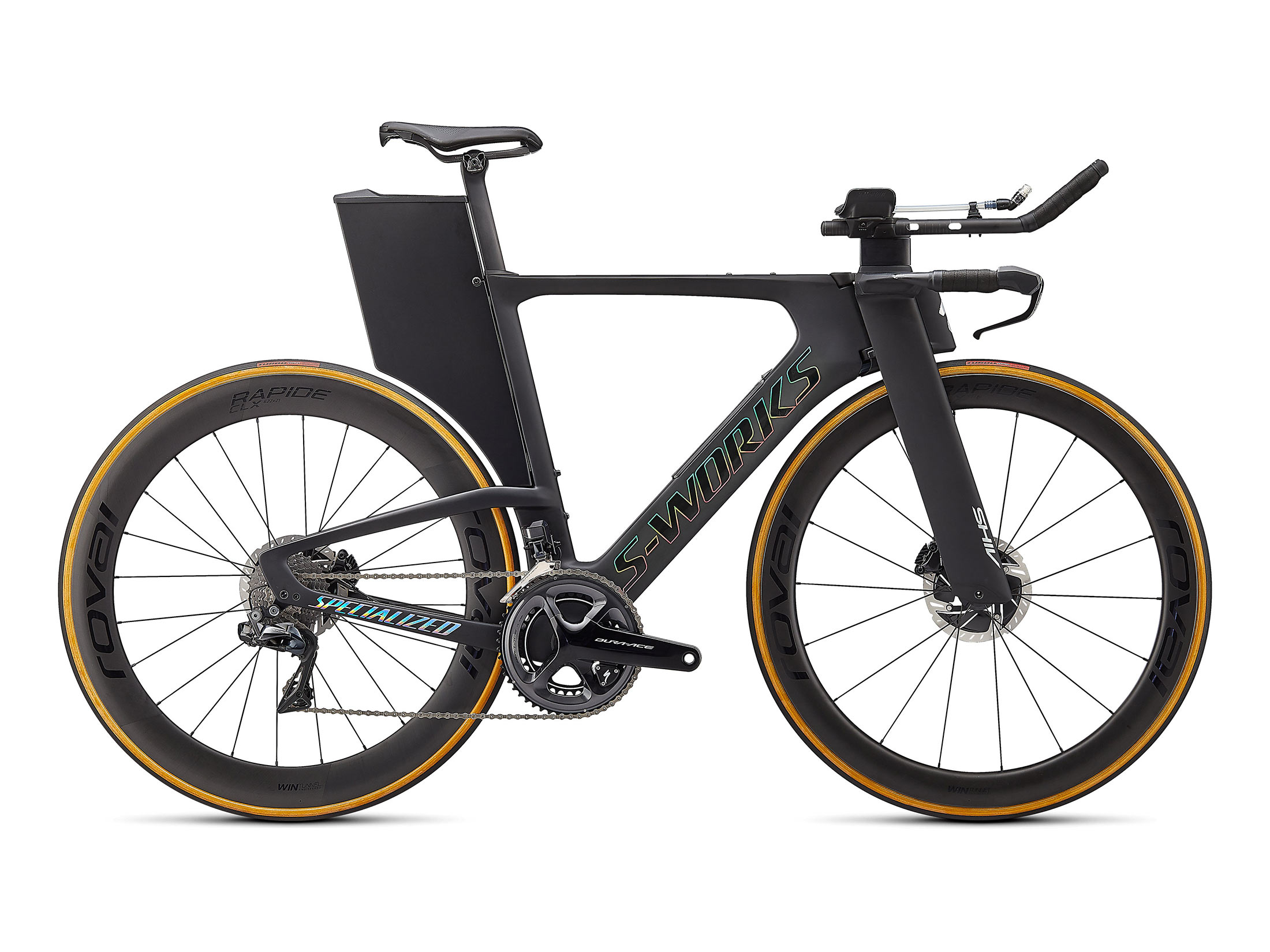 Specialized S-Works Shiv Disc Triathlon Bike - Carbon / Holographic Foil (XS)