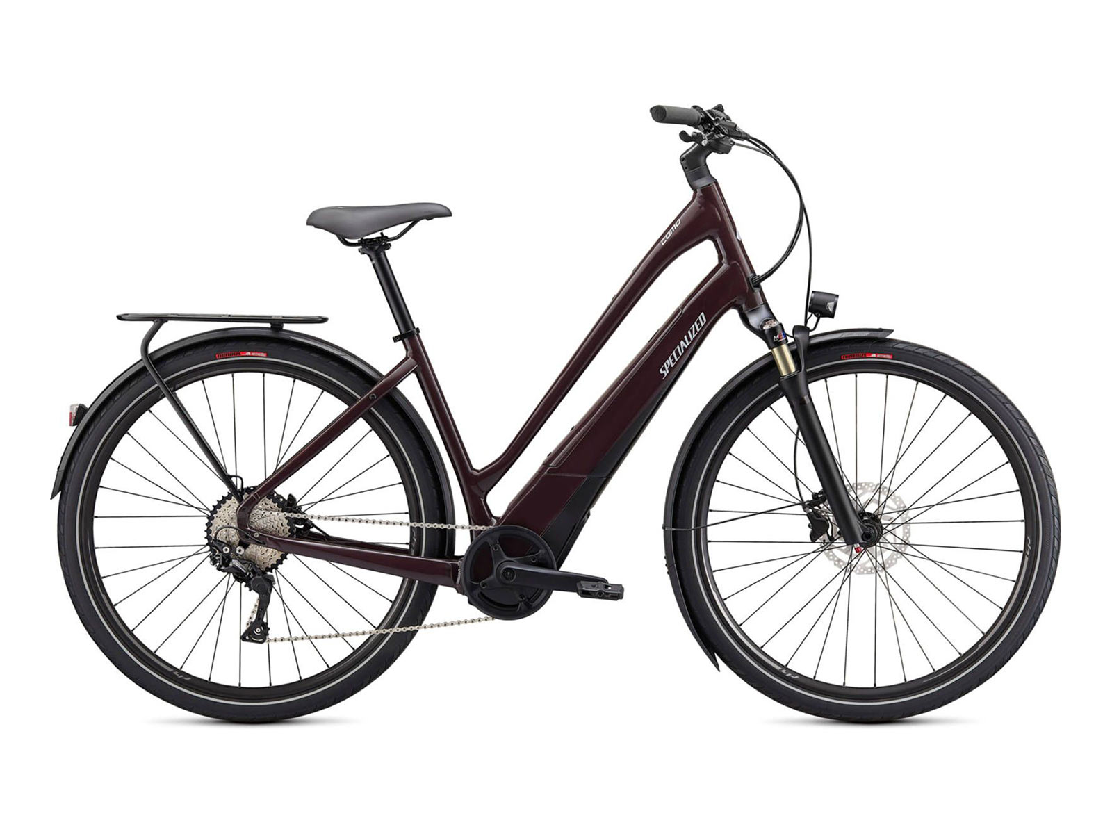 Specialized Turbo Como 4.0 700C - Low-Entry e-Bike - Cast Umber / Black / Chrome