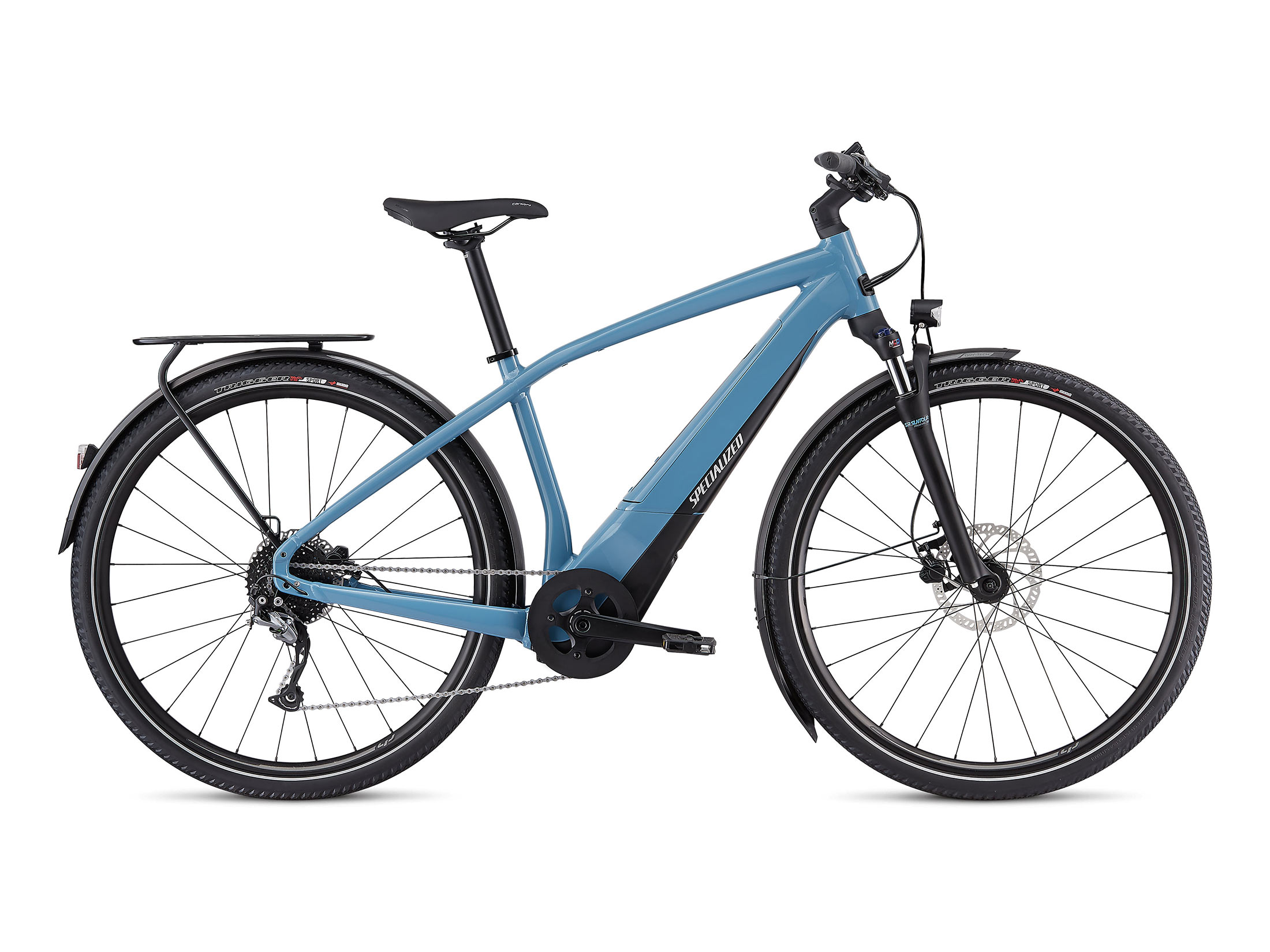 Ηλεκτρικό Ποδήλατο Specialized Turbo Vado 3.0 - Storm Grey / Black / Liquid Silver