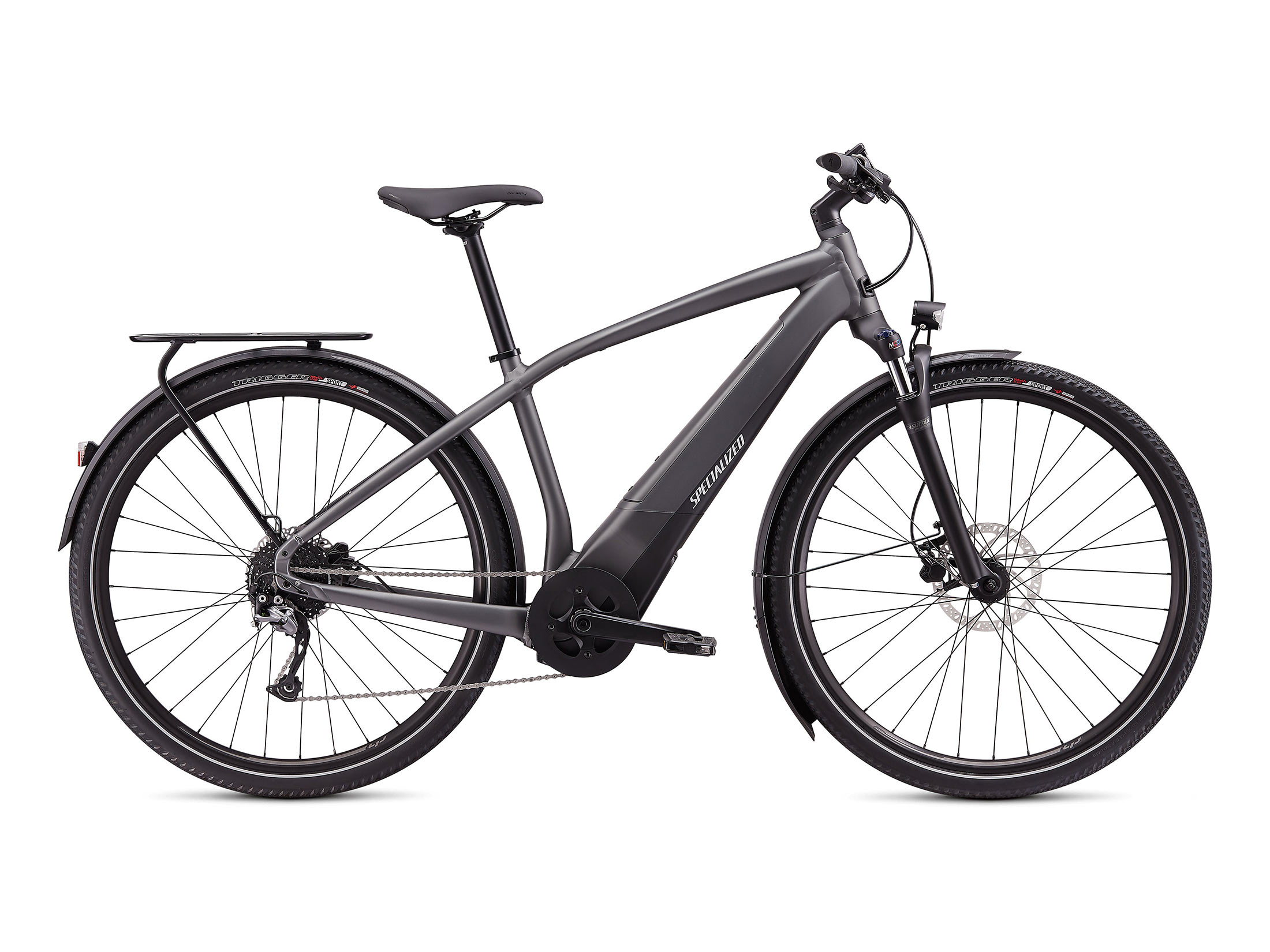 Ηλεκτρικό Ποδήλατο Specialized Turbo Vado 3.0 - Charcoal / Black / Liquid Silver