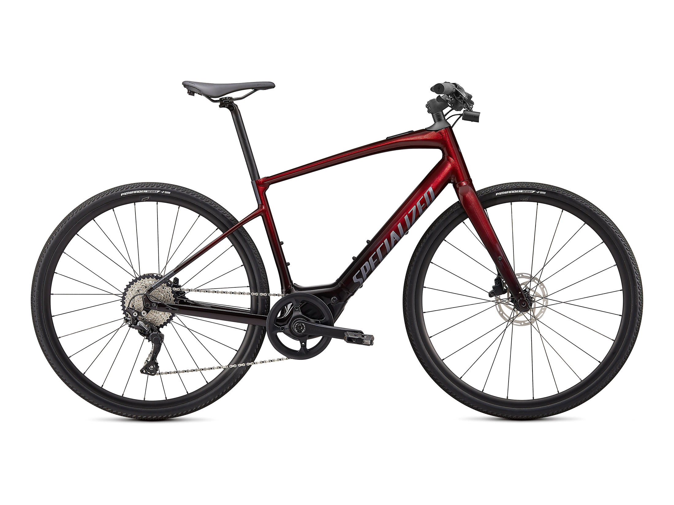 Ηλεκτρικό Ποδήλατο Specialized Turbo Vado SL 4.0 - Crimson Red Tint / Black Reflective
