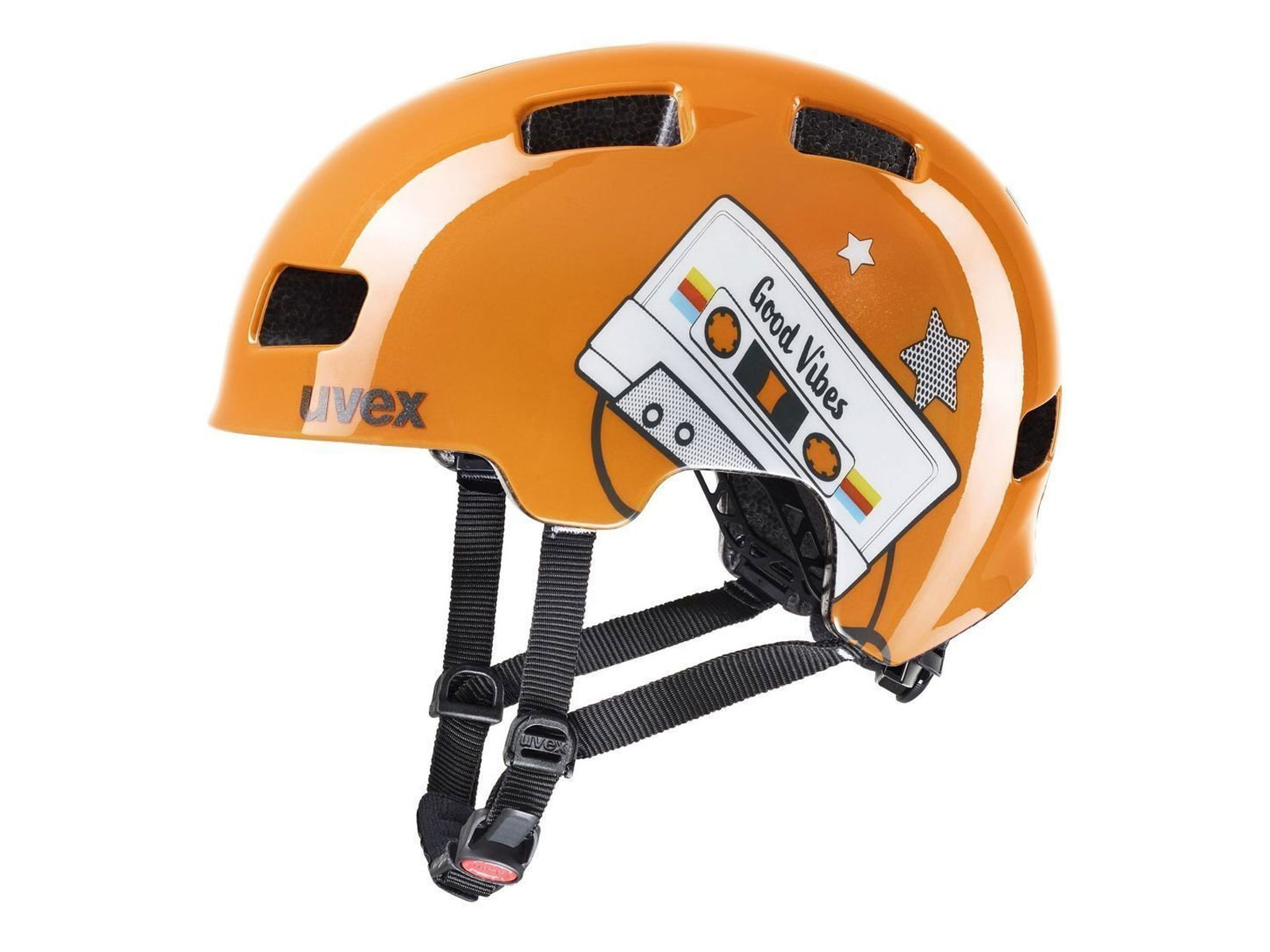 Κράνος Uvex Hlmt 4 - Orange Tape (51-55cm)